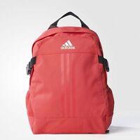 BRAND NEW $60 Adidas Power III Backpack Joy Red Bag AY5096
