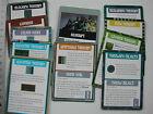 TERRAIN CARDS /TEENAGE MUTANT NINJA TURTLES/TMNT