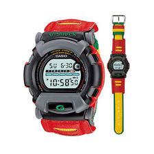 """*MINT* Casio G-Shock 1995 Reggae-Style FOXFIRE Nexax """"UPDANCE"""" DW002BM-9 Watch"""