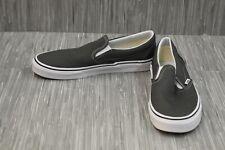**VANS Classic Slip On Casual Shoe, Men's Size 10 - Charcoal