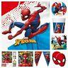 Spiderman Theme Party Supplies Superhero ORIGINAL Birthday Tableware Decorations
