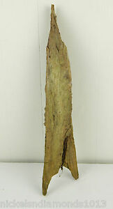 "Hardwood  Driftwood Reptile Fish Small "" Piece Aquarium Rocket Ship Missile"