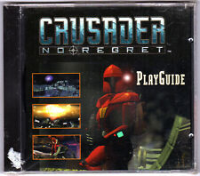Crusader No Regrets Play Guide 1996 Origin Electronic Arts PC Game Playguide CD