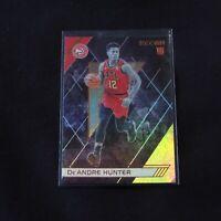2019-20 De'Andre Hunter Rookie Card Panini Recon Bronze Holo Atlanta Hawks #293