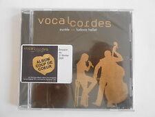 AURELE & LUDOVIC HELLET : VOCAL CORDES - [ CD ALBUM NEUF ] --> PORT GRATUIT