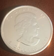 2011 1 oz Canadian Silver Maple Coin (BU) in holder