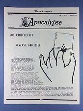 Harry Lorayne's Apocalypse - Joe Rindfleisch - Trucchi di Magia - 1994 Vol.17