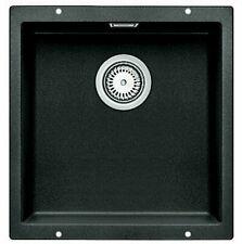 Blanco SUBLINE400U Undermount Single Bowl Sink - Black