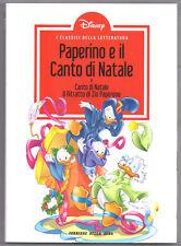 LIBRO FUMETTI CLASSICI LETTERATURA DISNEY-PAPERINO CANTO DI NATALE,ZIO PAPERONE