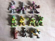 Job Lot De Viacom Teenage Mutant Ninja Turtles Mini Figures Shredder Splitter