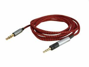 Replacement Audio nylon Cable For Pioneer HDJ-X5 X5 BT HDJ-X7 S7 HDJ-CUE1 CUE1BT