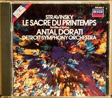 DECCA W. GERMANY SMOOTH CASE Stravinsky DORATI Rite Spring (CD 1983) 400 084-2