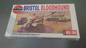 Vtg NOS 1990s Airfix OO/HO BRISTOL BLOODHOUND Missile SAM Kit Factory Sealed