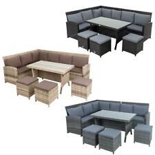 Polyrattan Essgruppe 20tlg Lounge Möbel Sofa Gartenset Gartengarnitur Sitzgruppe
