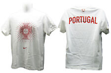 Nouveau Nike Portugal Football coton tee shirt blanc Large