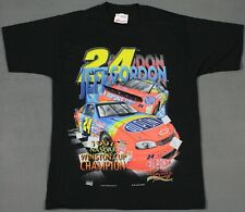 Jeff Gordon Vintage 1997 NASCAR Winston Cup Champ T-Shirt Medium Single Stitched