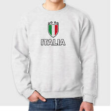 ITALIA Futbol FIFA 2014 World Cup Tee Italy Brazil Soccer Crew Neck Sweatshirt