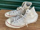 Vintage Black Label White Converse Chuck Taylor All Star Made In USA Size 10