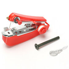 Hot Portable Mini Sewing Machines Needlework Cordless Hand-Held Travel Essential