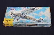 U977 Heller 1/72 maquette avion FIESELER Fi 156C-3 STORCH 072 ancienne boite