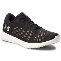 Under Armour UA Women's Rapid Running Shoes Trainers - Black - New