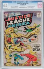 Brave and the Bold #29 CGC 4.0 DC 1960 2nd Justice League of America! G7 121 cm