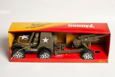 Buddy L Little Buddys Army JEEP & Howitzer with Soldier In Box