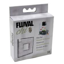 Fluval Chi Replacement Filter Pads - 3-Pack Fish Aquarium Tank *Genuine*