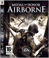 Medal of Honor Airborne PS3 Sony PlayStation 3 Brand New Factyory Sealed