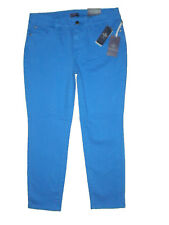 Not Your Daughters Jeans NYDJ Womens Olympia Blue Ankle Size 10P X 26 New $110