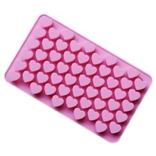 New 1PC Mini 55 Heart Silicone Mold For Candy Chocolate Cake Soap Mould Baking