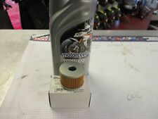 Benelli Bn125 Tnt125 Rock Oil 10W-40 & Genuine Filter Kit 169124320000