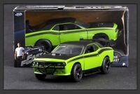 Jada 1:32 Fast & Furious DODGE Challenger SRT8 muscle Car Diecast Toys models