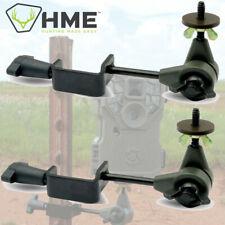 2 Pack Set Hme T-Post Fence Post Trail Game Camera Cam Mount Holder