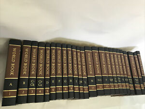 The World Book Encyclopedia Copyright 1982 complete set 1-22 and Extras