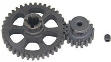 Hobbypark 1 Set Metal Diff Main Gear 38T and Motor Gear 17T For Rc 1/18 Wltoys