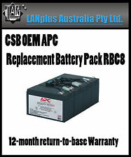 CSB OEM APC Replacement Battery Pack RBC8 smart ups 1400 SU1400RM SU1400RMINET