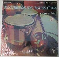 "Disney Record ""Recuerdos De Aquel Cuba"" - SLP-743 - Still Sealed (SS)"