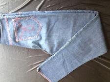 jeans enfant SONIA RYKIEL bleu surpiqure rouge fermeture zip Taille 14 ans