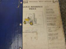 Clark Model CY40B Forklift Lift Truck Parts Catalog Manual Book
