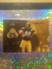 2000 Plaxico Burress 67/100 FACEMASK CARD SUPER RARE ROOKIE!!!!