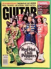 Guitar World August 2002 35th Anniversary The Beatles Sgt. Pepper Chili Peppers