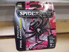 Spiderwire SS40PC-3000 Stealth Pink Camo Braid 40lb test 3000yd bulk spool