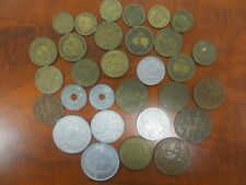 Beautiful old French coins lot. 30 old coins Many different dates!! Lot 105