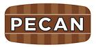 "Pecan Labels 1000 per Roll Food Store Flavor Stickers .625"" X 1.25"""
