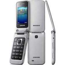 Samsung GT C3520 - Charcoal Grey (Unlocked) Flip Mobile