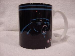AWESOME Carolina Panthers Black Ceramic Coffee Mug, Cam Newton, Luke Kuechly!!