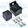 50 Amp Mini Automotive Power Relay Kit With Stackable Base SPDT