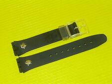 ORIGINAL Swatch BERGSTRÜSSLI GZ105 Armband 17mm  - NEU / NEW - Edelweiss