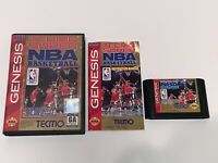 Tecmo Super NBA Basketball (Sega Genesis, 1993) *Complete* Game